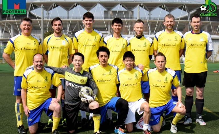 Clash TML 13: Back Row: Dave Donyo, Gavin Evans, Federico Bertani, Mohamed Bouziane, Paul James, Ian Webster(C), Ben Jennings Front Row: Matt Kershaw, Suguru Tsuda, Toshiaki Usuba, Yasuyuki Kataoka and Matt Fuller.