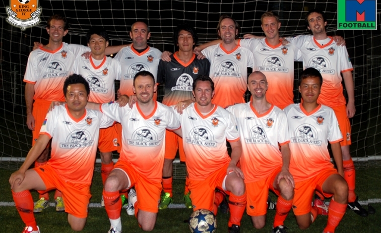 Back Row: Sean Carroll (C), Kei Ambo, Alex Zupsic, Masa Saga, Mike Burns, Chris Stubbings, James Ryan Front Row: Shuji Miyagishi, Chris Thomas, James Bates, Ben Steinson, Yuki Sato