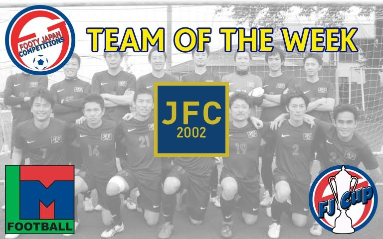 FJ TOTW MATCHDAY 20 | Footy Japan Competitions