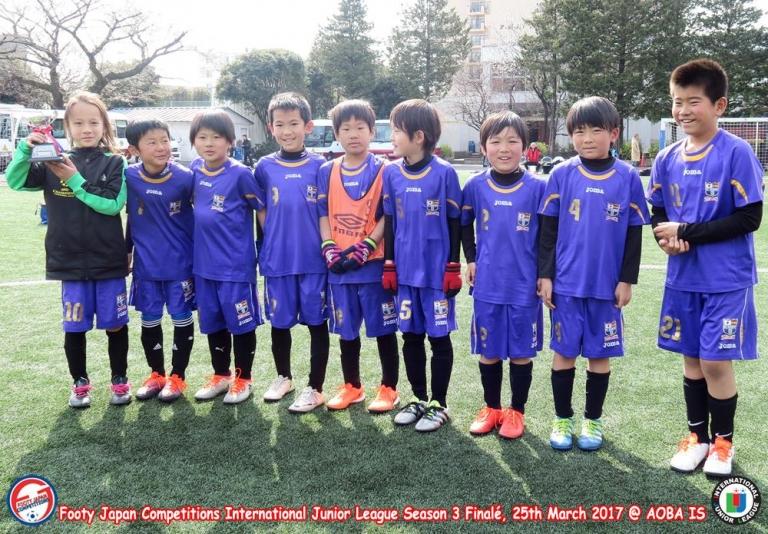 U10 Runners Up: FC DONFHY