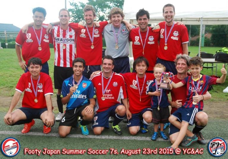 British Embassy FC: Plate Winners